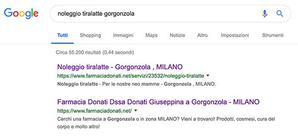 farmacia donati gorgonzola