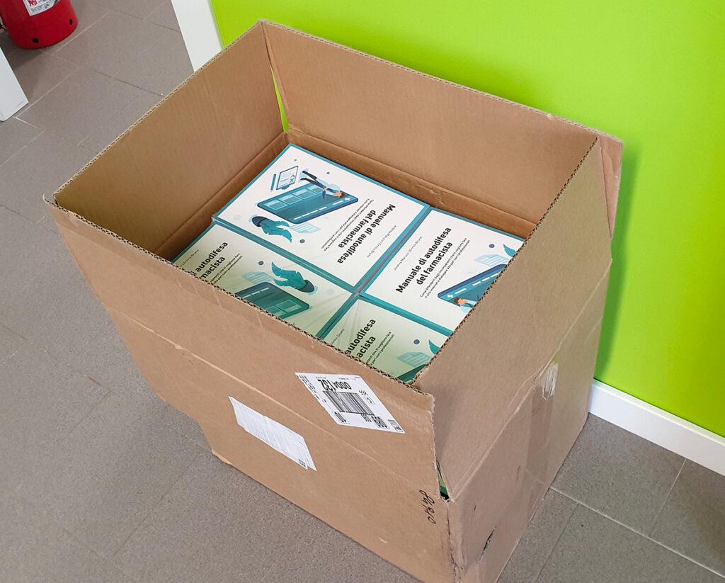 scatola manuale autodifesa farmacista