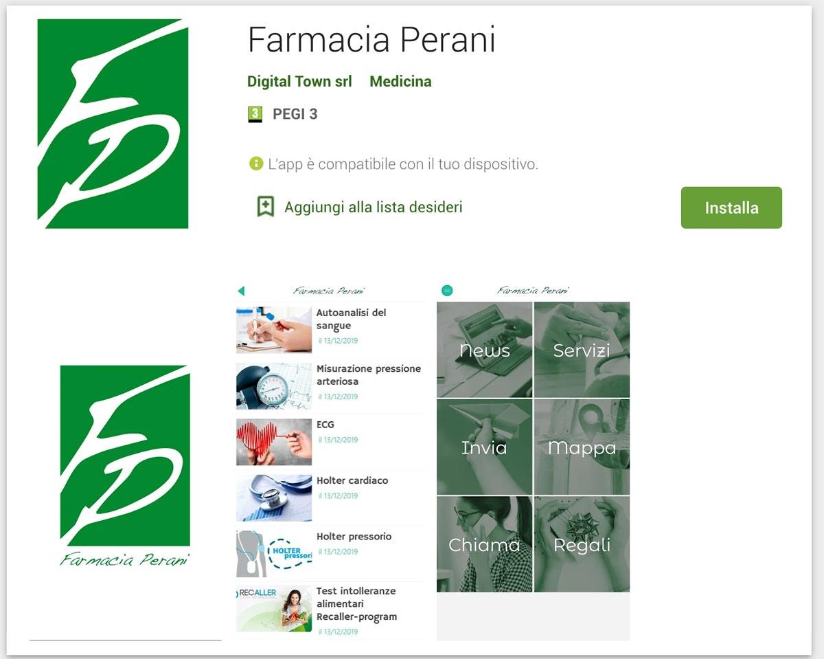 App Farmacia Perani