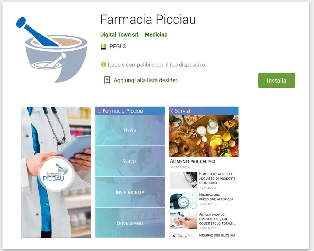 nuova app ios android farmacia picciau farmacia evoluta