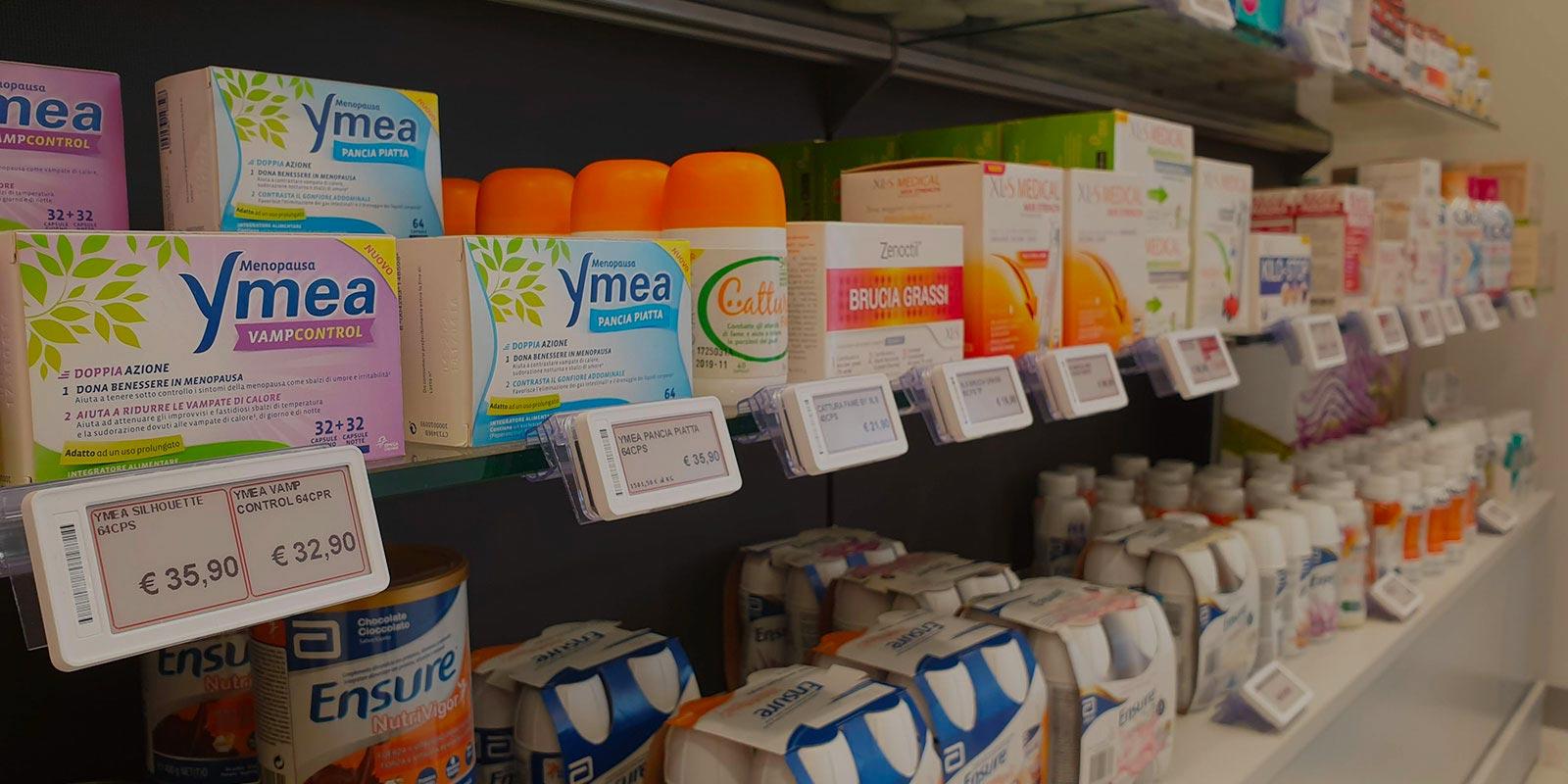 etichette elettroniche farmacia promelit