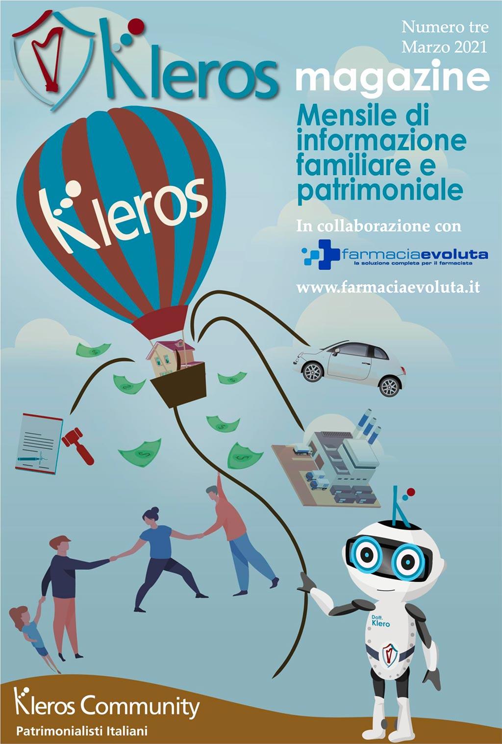 Kleros magazine in collaborazione con Farmacia Evoluta