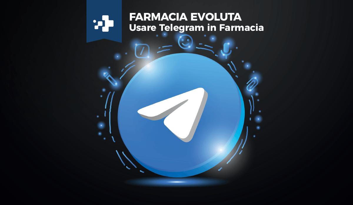 usare telegram in farmacia